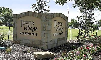 Community Signage, Tower Village, 2