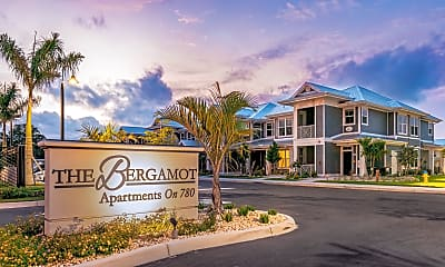 Community Signage, The Bergamot Apartments on 780, 0