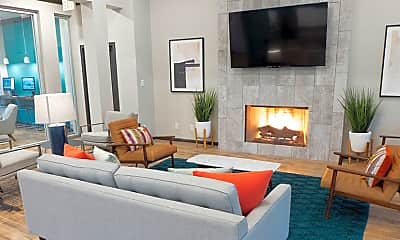 Living Room, Hollister Place, 1