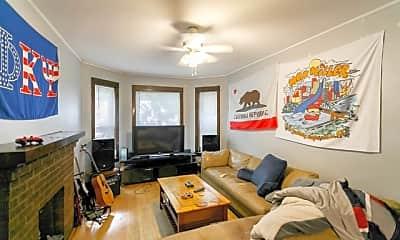 Living Room, 3111 N Racine Ave, 1