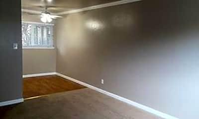 Living Room, Hilltop Apartments, 1