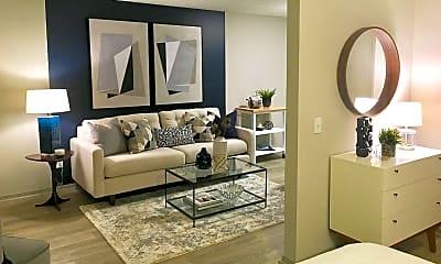 Living Room, VUE at Rocket City, 1