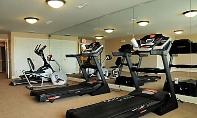 Fitness Weight Room, Village at Stratford, 2
