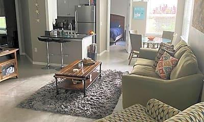 Living Room, 12550 Equestrian Cir 605, 1