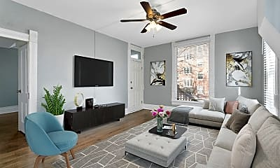 Living Room, 4132 Locust St, 0