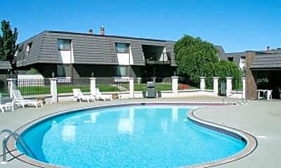 Pool, Pheasant Run Apartments, 0