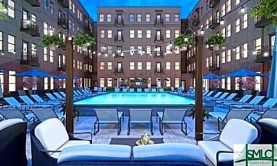 Pool, 630 Indian St SB, 1