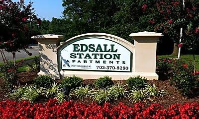 Edsall Station, 1