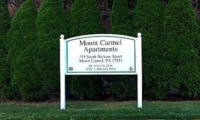 Mt. Carmel Apartments, 1