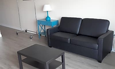 Living Room, 1080 Park Blvd 1505, 1