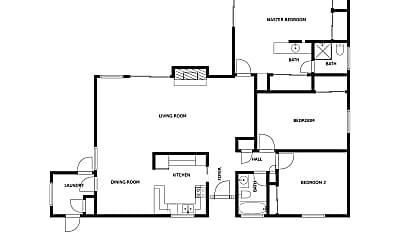 Bedroom, 4145 Oro St, 2