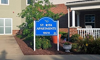 St. Rita Apartments at Jennings Center for Older Adults, 1