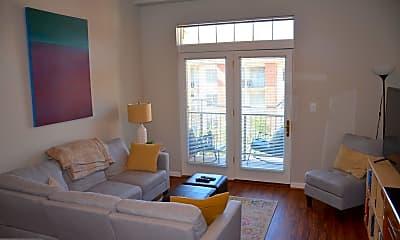 Living Room, 309 Holland Ln 302, 1