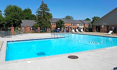 Pool, Governor Square Apartments And Townhomes, 1