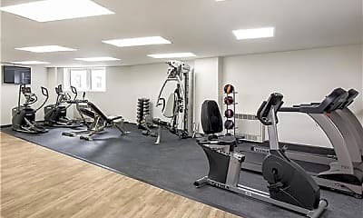 Fitness Weight Room, 3620 Oxford Ave 9-A, 2