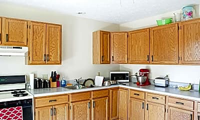 Kitchen, Pius Lane and Central Avenue Apartments, 1