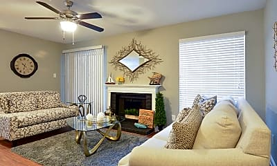 Living Room, The Avery at Deer Park, 1