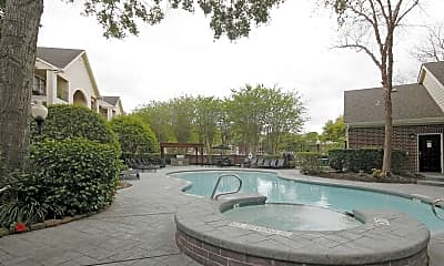 Pool, Meyer Forest Apartments, 0