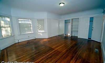 Living Room, 2440 Haste St, 2