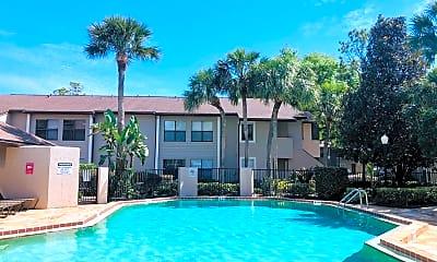 Pool, 2936 Antique Oaks Cir, 2