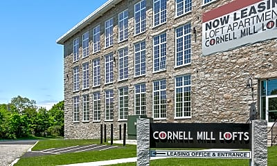Building, Cornell Mill Lofts, 2