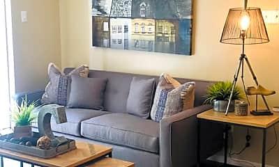 Living Room, Montoro Apartments, 1