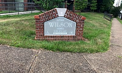 Luther C. Wilson Homes, 1