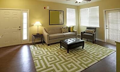 Living Room, Walnut Terrace Villas, 1