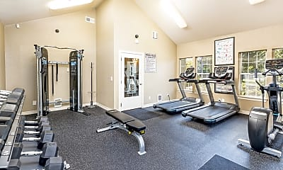 Fitness Weight Room, The Overlook at Murrayhill, 0