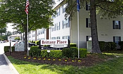 Community Signage, Brittany Place Apartments, 1