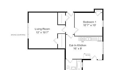 Living Room, 2339 W Addison St, 2