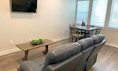 Living Room, 4819 Caroline St, 1