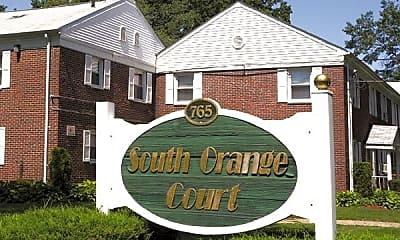 Community Signage, South Orange Court, 2