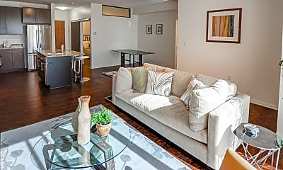 Living Room, 1800 Lake Apartments, 0