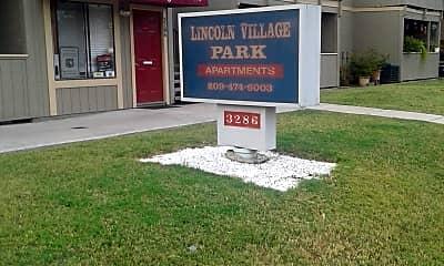 LINCOLN VILLAGE PARK APTS., 1