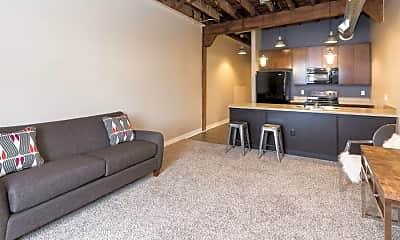 Living Room, Rocket Transfer Lofts, 1