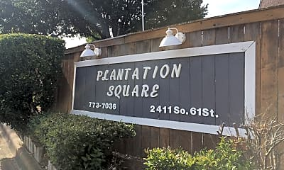 Plantation Square Apartments, 1