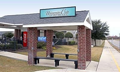 Community Signage, University Club, 2