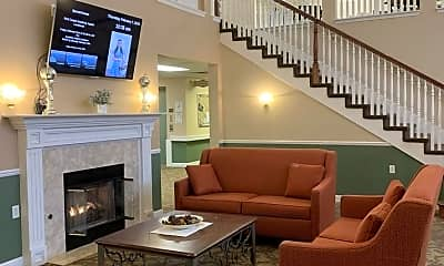 Living Room, Lockwood of Burton Senior Living Community, 2