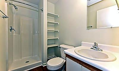 Bathroom, Southgate Garden Apartments, 2