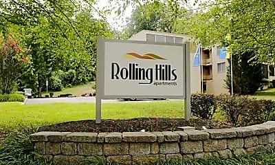 Community Signage, Rolling Hills, 2