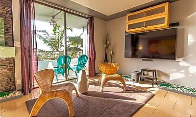 Living Room, 500 Three Islands Boulevard 308, 1