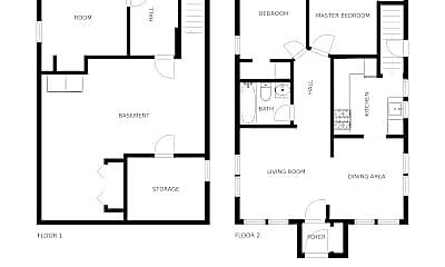 Bedroom, 810 8th St SE, 2