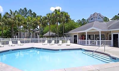 Pool, Savannah Sound Apartments, 0