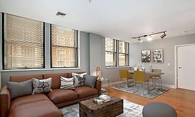 Living Room, The Lofts, 1