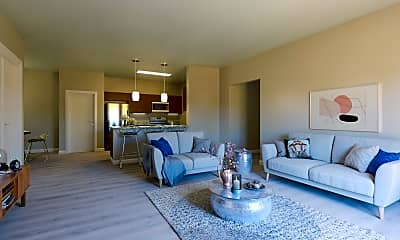 Living Room, The Reserve at Raintree, 1