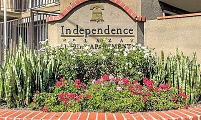Community Signage, Independence Plaza, 0