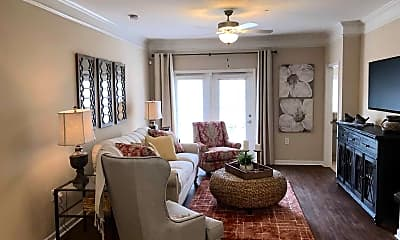 Living Room, Summerwind Apartments, 2