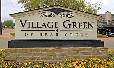 Community Signage, Village Green Of Bear Creek, 2