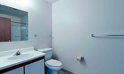 Bathroom, Traditions Apartments, 2